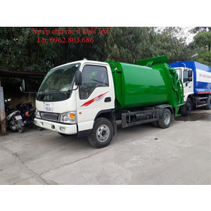 Xe ép chở rác 6 khối (m3) JAC