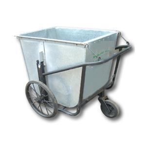 Xe gom rác tôn 500 lít giá rẻ tại Hồ Chí MInh