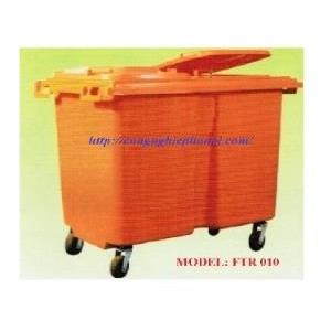 Xe gom rác 660L Composite