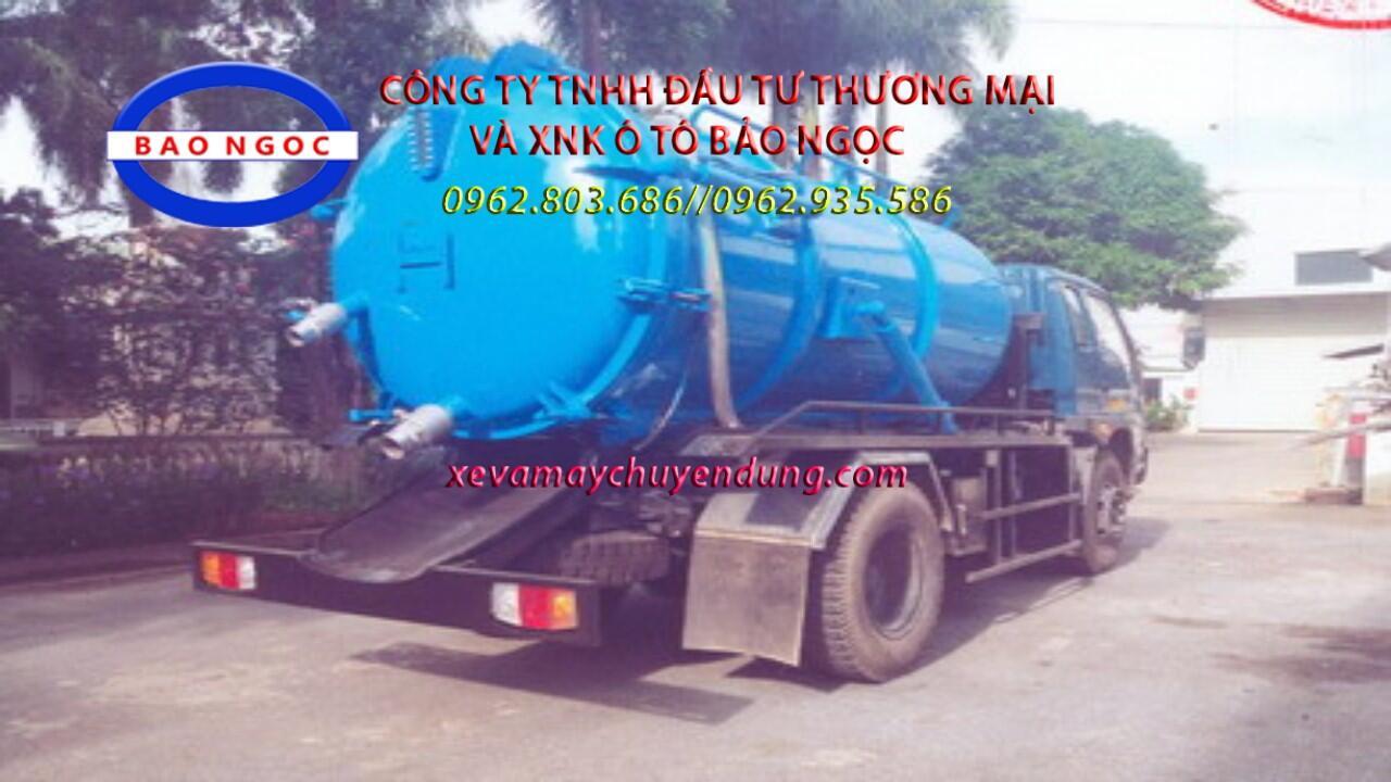 xe hút chất thải forland 6,5 m3
