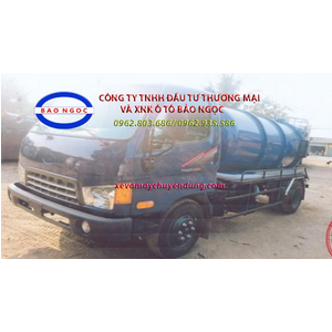 Xe hút chất thải 4,5 khối thaco HD500