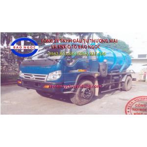 Xe hút chất thải 6,5 khối thaco forland FD9000