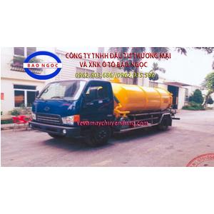 Xe hút chất thải 6 khối(m3) hyundai HD800