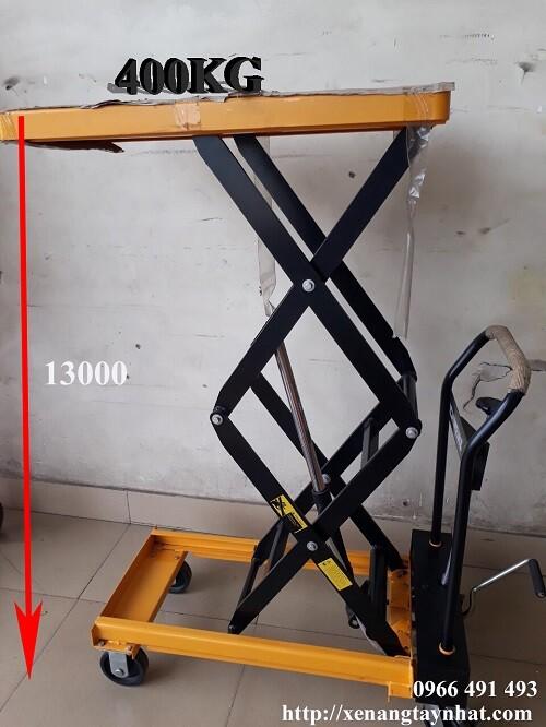Xe nâng bàn 400kg giá rẻ giao hàng miễn phí HCM