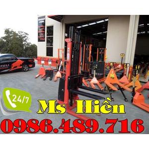 Xe nâng bán tự động 1.5 tấn 2m Niuli Trung Quốc giá siêu rẻ