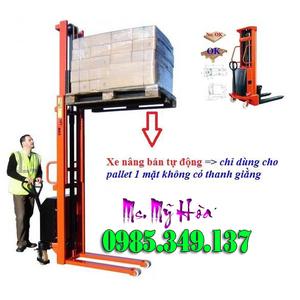 Xe nâng bán tự động 1 tấn cao 1.6m CTD1516 hàng chính hãng