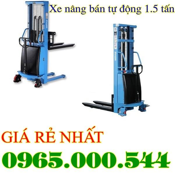 xe nâng bán tự động tại Bắc Ninh
