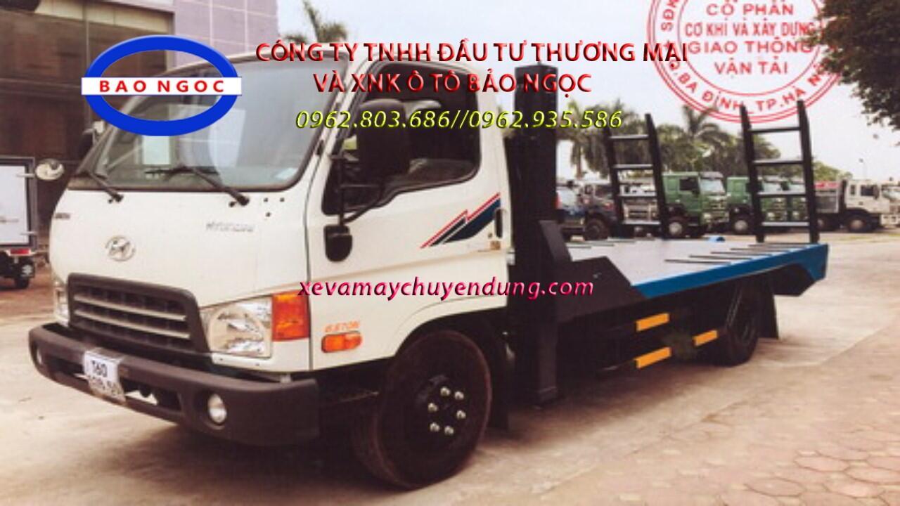 Xe nâng đầu chở máy công trình hyundai hd99