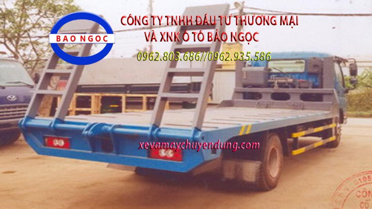 Xe nâng đầu chở máy 7 tấn thaco ollin 720 euro 4