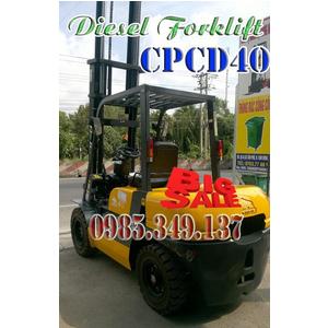 Thanh lý Xe nâng dầu diesel CPCD40 Thu hồi vốn nhanh