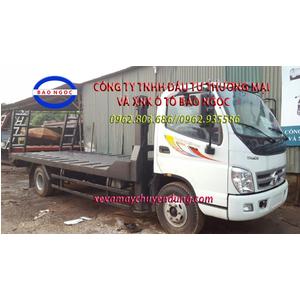 Xe nâng đầu thaco ollin 700b chở máy công trình, máy gặt