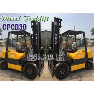 Thanh lý Xe nâng dầu diesel 3 tấn CPCD30