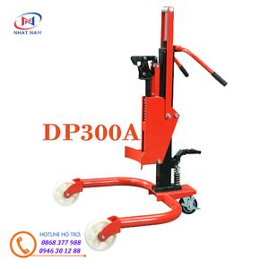 Xe nâng di chuyển phuy DP300A nâng cao 400mm hiệu Meditek