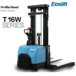 Xe nâng điện cao đứng lái 1.2 tấn, 1.6 tấn chân rộng Eoslift