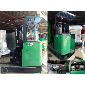 Xe nâng điện đã qua sử dụng 1.5 tấn 3m Komatsu-Nhật