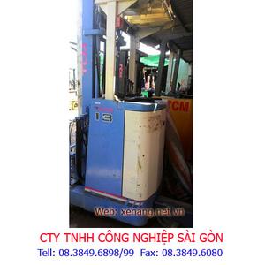 Xe nâng điện cũ TCM 1300kg 4m
