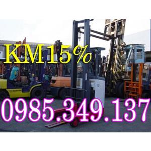 Xe nâng điện cũ Toyota, Komatsu,Tcm,Nissan giá chỉ 90 triệu