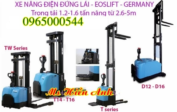 Phân phối xe nâng điện 1 tấn 1.5 tấn 2 tấn tại Bắc Ninh