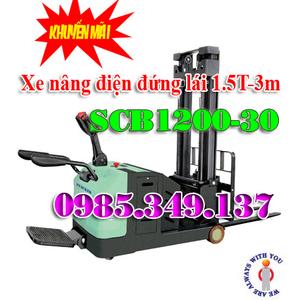 XE NÂNG ĐIỆN ĐỨNG LÁI SCB1200-30