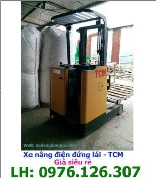 Xe nâng điện đứng lái TCM 1.5 tấn 3m