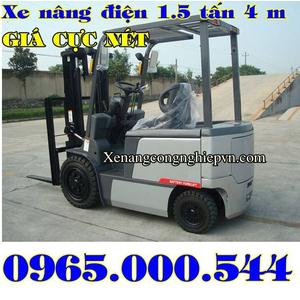 Xe nâng điện ngồi lái 1.5 tấn Eoslift giá khuyến mãi