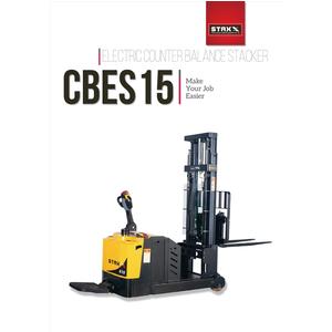 Xe nâng điện tải nâng 1500kg độ cao nâng 3000mm CBES15D4-3000