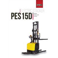 Xe nâng điện tải nâng 1500kg độ cao nâng 3000mm Model PES15D