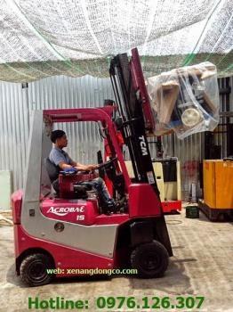 Xe nâng điện TCM 1.5 tấn