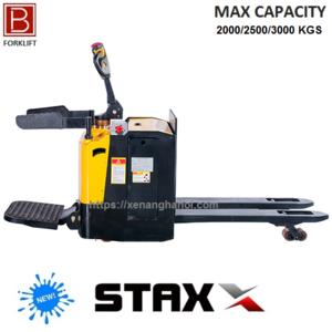 Xe nâng điện thấp đứng lái Model RPT30 Tải nâng 2000/2500/3000 Kg