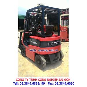 Xe nâng điện Toyota 1.5 tấn cao 3m