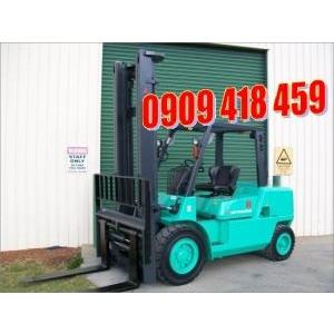 Xe nâng động cơ diesel 3,5 tấn Mitsubishi