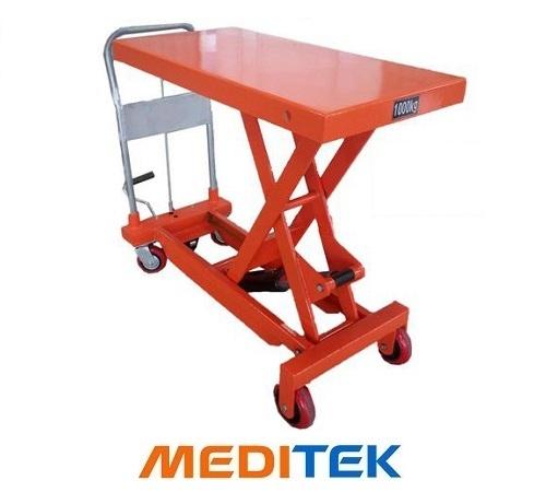 Xe nâng mặt bàn tải trọng 1 tấn (Model: WP1000) hãng Niuli