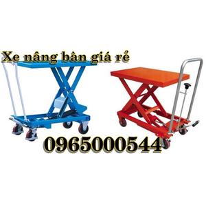 Xe nâng mặt bàn 800 kg chất lượng nhập khẩu