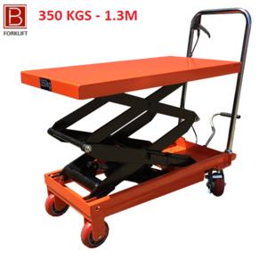 Xe nâng mặt bàn tải trọng 350kg Model WP350 nâng cao 1.3 m