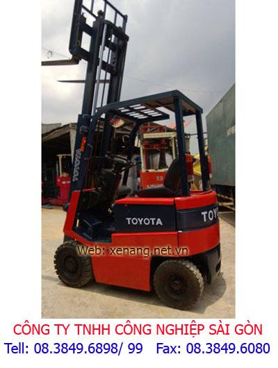 Xe nâng điện Toyota 1.2 tấn cao 3m