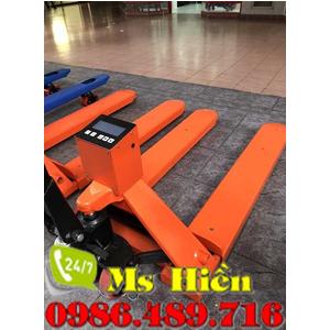 Xe nâng tay 2.5 tấn gắn cân giá rẻ tại Hà Nội