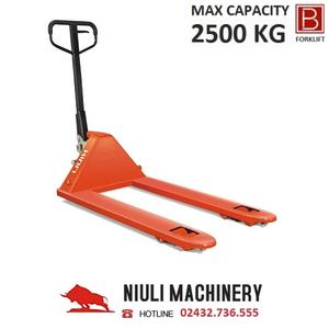 Xe nâng tay 2.5 tấn (Model: AC25) Hãng Niuli