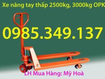 XE NÂNG TAY 2,5 TẤN- OPK