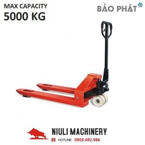 Xe nâng tay 5 tấn (Model: AC50) Hãng Niuli China