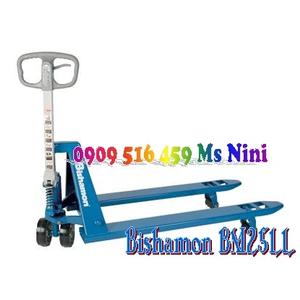 Xe nâng tay Bishamon BM25LL, Xe nâng tay Bishamon 2.5 tấn càng rộng