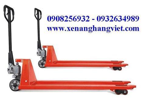 Xe nâng tay siêu dài 1.6m 2500kg Meditek PTL25-1.6m