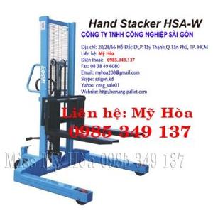 XE NÂNG TAY CAO 1.0 tấn,cao 1,6m chân rộng