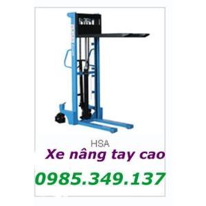 XE NÂNG TAY CAO 1,5 tấn cao 1,6m, 3m