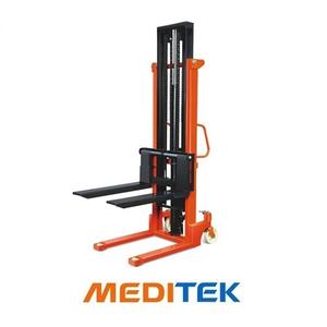 Xe nâng tay cao 1 tấn nâng cao từ 2M - 3.5M (Model: HS) Meditek