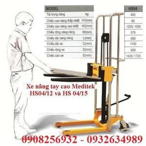 Xe nâng tay cao mini 1.3m 400kg HS0413
