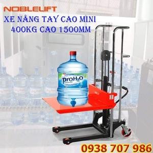 XE NÂNG TAY CAO MINI 400KG/ NÂNG CAO 1200MM