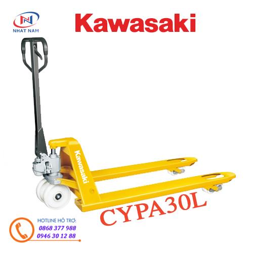 Xe nâng tay Kawasaki CYPA30L tải trọng nâng 3000kg