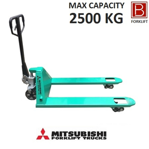 Xe nâng tay 2,5 tấn Mitsubishi (Model: PWH25) Công nghệ Nhật Bản