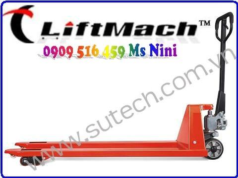 Xe nâng tay siêu dài 1800mm, Xe nâng hàng càng siêu dài