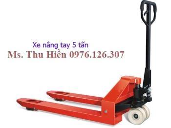 Xe nâng tay thấp 5 tấn - Noveltek Taiwan